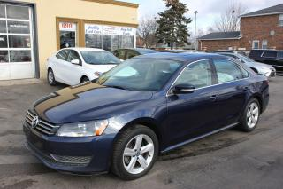 Used 2015 Volkswagen Passat Comfortline Sunroof Leather for sale in Brampton, ON