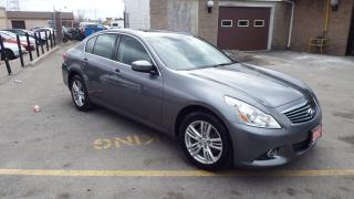 Used 2011 Infiniti G37X  Sport/BACKUP CAMERA/IMMACULATE$10999 for sale in Brampton, ON