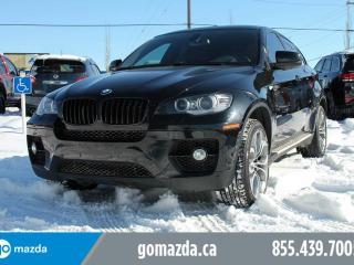 Used 2012 BMW X6 xDrive50i LEATHER SUNROOF NAV FANTASTIC SHAPE for sale in Edmonton, AB