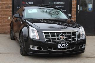 Used 2012 Cadillac CTS Performance AWD *ONE OWNER, NO ACCIDENTS, NAVI* for sale in Scarborough, ON