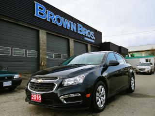 Used 2016 Chevrolet Cruze LT, Bluetooth, back up Camera, Fuel efficient for sale in Surrey, BC