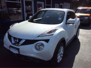 Used 2016 Nissan Juke SL Navigation, Leather for sale in Parksville, BC