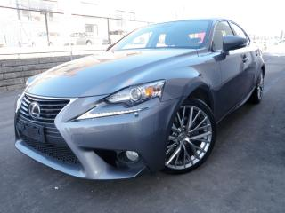 Used 2014 Lexus IS 250 LUXURY NAV AWD 52KM WARRANTY INCLUDED BY LEXUS for sale in Toronto, ON