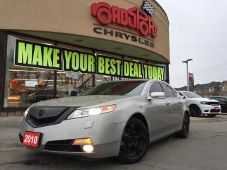 Used 2010 Acura TL LEATHER SEATS, POWER SUNROOF FOG LIGHTS for sale in Scarborough, ON