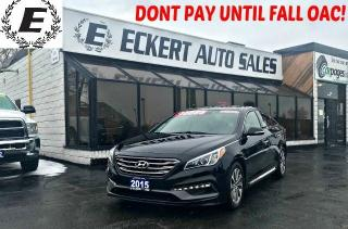 Used 2015 Hyundai Sonata SPORT WITH REVERSE CAMERA / SUNROOF for sale in Barrie, ON