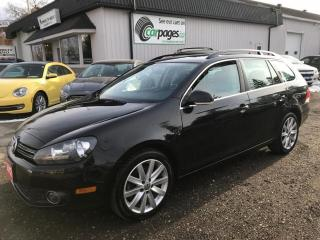 Used 2012 Volkswagen Golf Wagon HIGHLINE for sale in Bloomingdale, ON
