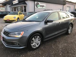 Used 2015 Volkswagen Jetta comfortline for sale in Bloomingdale, ON