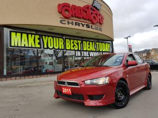 Used 2011 Mitsubishi Lancer SE ALLOY WHEELS KEYLESS ENTRY B-TOOTH WINTER TIRES for sale in Scarborough, ON