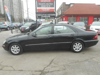 Used 2002 Mercedes-Benz S500 LONGWHEEL BASE for sale in Scarborough, ON