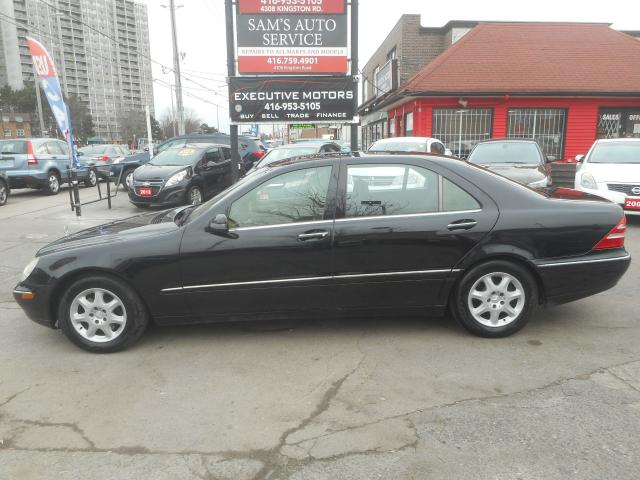 Used 2002 mercedes benz s500 longwheel base for sale in for Mercedes benz scarborough
