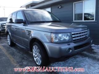 Used 2007 Land Rover RANGE ROVER SPORT SUPERCHARGED 4D UTILITY for sale in Calgary, AB