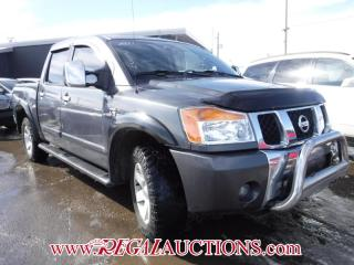 Used 2004 Nissan TITAN  CREW CAB 4WD for sale in Calgary, AB