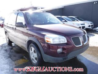 Used 2007 Pontiac Montana Sv6 4D Ext Wagon for sale in Calgary, AB