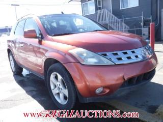 Used 2003 Nissan MURANO SL 4D UTILITY 4WD for sale in Calgary, AB