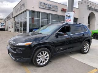 Used 2014 Jeep Cherokee Limited..Leather/Navi for sale in Burlington, ON