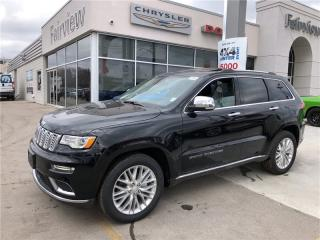 Used 2018 Jeep Grand Cherokee Summit,Brand New for sale in Burlington, ON