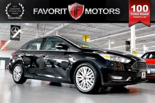 Used 2015 Ford Focus Titanium FLEX FUEL LTHR | BACK CAM | HEATED SEATS for sale in North York, ON