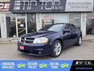 Used 2014 Dodge Avenger SXT ** Factory Remote Start, Sunroof, Heated Seats for sale in Bowmanville, ON
