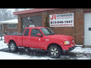 Used 2006 Ford Ranger Sport Supercab 4X4 - Nice Clean Truck for sale in Elginburg, ON
