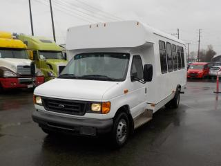 Used 2007 Ford E450 21 Passenger Bus with Wheelchair Accessibility Diesel for sale in Burnaby, BC