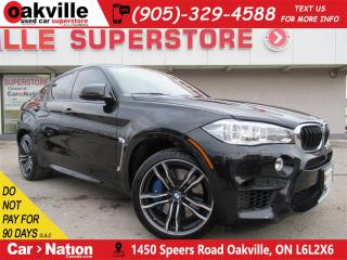Used 2015 BMW X6 M 567 HP | RED LEATHER | HUD | VENT SEATS | NAV for sale in Oakville, ON