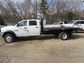 Used 2017 Dodge Ram 5500 Crew Cab 4x4 diesel with / without 12 ft flat deck for sale in Richmond Hill, ON