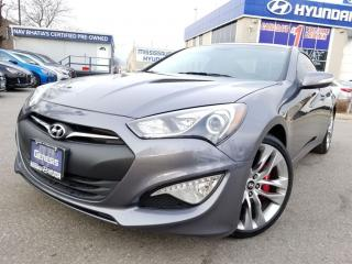 Used 2015 Hyundai Genesis Coupe GT-BREMBO BRAKES (DEMO) CALL US TODAY..!! for sale in Mississauga, ON