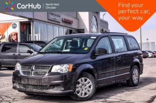 New 2017 Dodge Grand Caravan New Car CVP|Trac.Cntrl|Dual_Climate|Keyless_Entry|Roof Rails for sale in Thornhill, ON