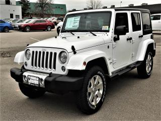 Used 2018 Jeep Wrangler JK Unlimited Sahara NAVI/UCONNECT for sale in Concord, ON