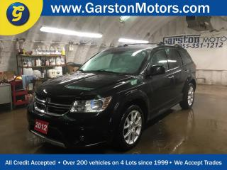 Used 2012 Dodge Journey R/T AWD*LEATHER*POWER SUNROOF*ALPINE AUDIO*U CONNECT PHONE*KEYLESS ENTRY w/REMOTE START*DUAL ZONE CLIMATE CONTROL*POWER WINDOWS/LOCKS/HEATED MIRRORS*T for sale in Cambridge, ON