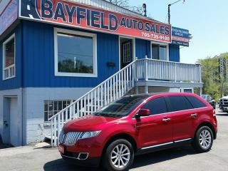 Used 2011 Lincoln MKX AWD **Navigation/Pano Roof/Remote Start** for sale in Barrie, ON