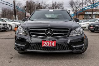 Used 2014 Mercedes-Benz C-Class C300 4MATIC LEATHER SUNROOF NAVI NO ACCIDENT for sale in Brampton, ON