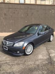 Used 2010 Mercedes-Benz C250 4 MATIC - SPORT PKG. - SUNROOF - LEATHER for sale in North York, ON