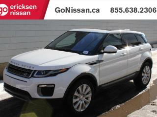 Used 2017 Land Rover Evoque SE: NAVIGATION, PANORAMIC ROOF, VERY LOW KMS! for sale in Edmonton, AB