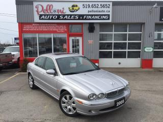 Used 2005 Jaguar X-Type 3.0 AWD w/ SUNROOF for sale in London, ON
