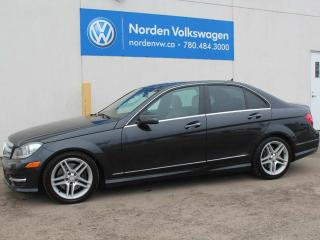 Used 2012 Mercedes-Benz C-Class AWD for sale in Edmonton, AB