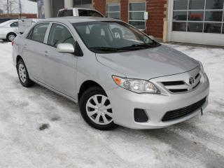 Used 2013 Toyota Corolla CE 4DR SEDAN for sale in Red Deer, AB