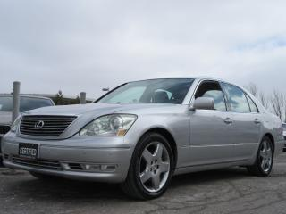 Used 2006 Lexus LS 430 Ultra Premium for sale in Newmarket, ON