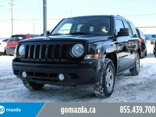 Used 2015 Jeep Patriot SPORT FWD POWER OPTIONS ACCIDENT FREE 1 OWNER for sale in Edmonton, AB