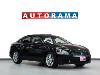 Used 2011 Nissan Maxima LEATHER SUNROOF HEATED SEATS BLUETOOTH AUX for sale in North York, ON