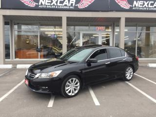 Used 2014 Honda Accord TOURING AUT0 NAVI LEATHER BACKUP CAMERA 89K for sale in North York, ON