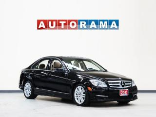 Used 2011 Mercedes-Benz C 300 NAVIGATION AWD LEATHER SUNROOF for sale in North York, ON