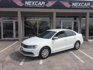 Used 2015 Volkswagen Jetta 2.0L TRENDLINE AUT0 A/C CRUISE BACKUP CAMERA 56K for sale in North York, ON