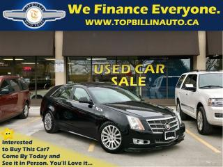 Used 2010 Cadillac CTS 3.6L AWD, Navigation, Pano Roof, Leather for sale in Concord, ON