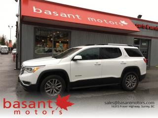 Used 2017 GMC Acadia SLE-2, Panoramic Roof, Heated Seats, Backup Cam!! for sale in Surrey, BC