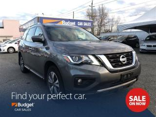 Used 2017 Nissan Pathfinder SL Edition, Leather Seating, Blind Spot Detection for sale in Vancouver, BC