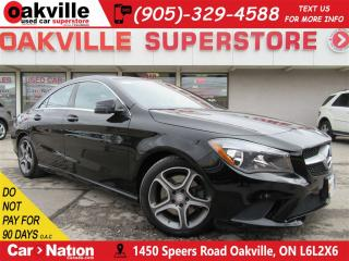 Used 2015 Mercedes-Benz CLA-Class CLA250 4MATIC | LEATHER | NAV | B/U CAM | LOW KM for sale in Oakville, ON