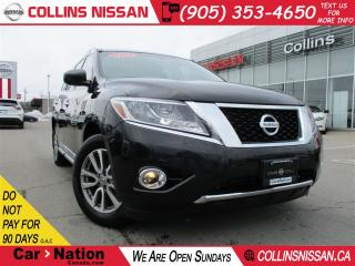 Used 2016 Nissan Pathfinder SL | ALLOYS | NAVI | LEATHER | SUNROOF | 4X4 | for sale in St Catharines, ON