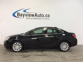 Used 2016 Buick Verano - 2.4L|AUTO|ALLOYS|DUAL CLIMATE|ON STAR|CRUISE! for sale in Belleville, ON