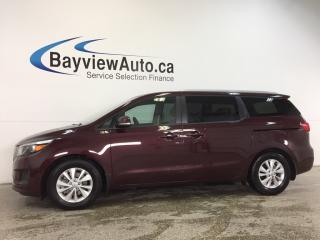 Used 2018 Kia Sedona LX- ALLOYS|ECO MODE|HTD STS|REV CAM|BLUETOOTH! for sale in Belleville, ON